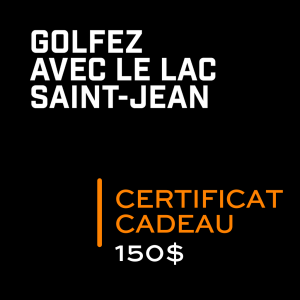 Golf Saint Prime Certificat cadeau 150$