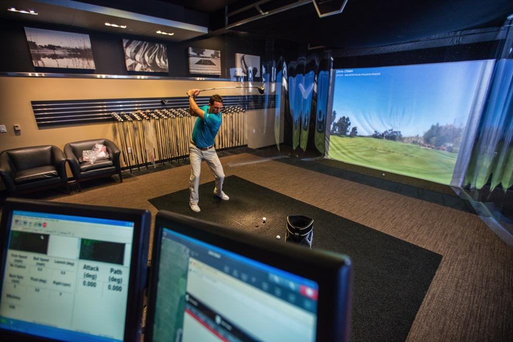 Golf Saint-Prime sur le lac Fitting Center demo