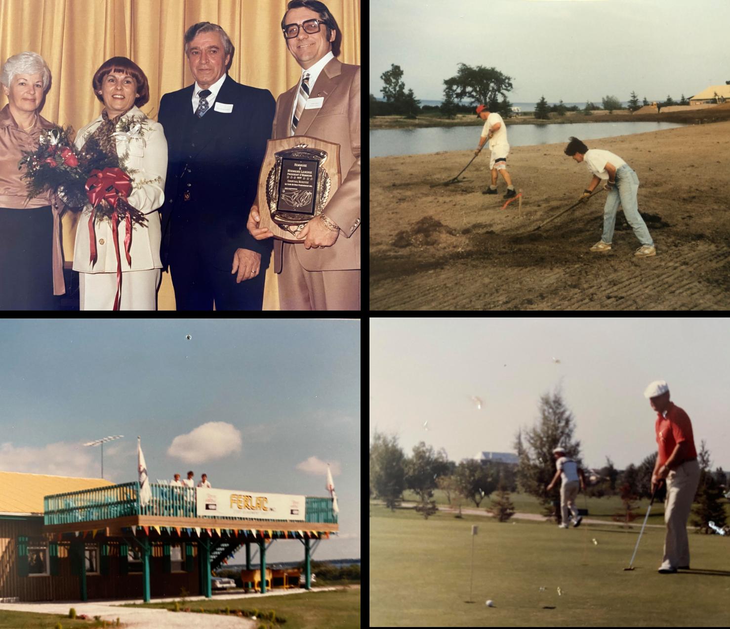 Golf Saint_Prime Page histoire ensemble de photos