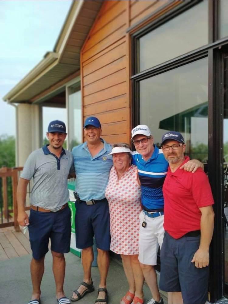 Vainqueurs Week-end Golf Saint Prime 2021